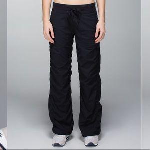 Lululemon   Lined Dances Studio Pants Black Sz 8